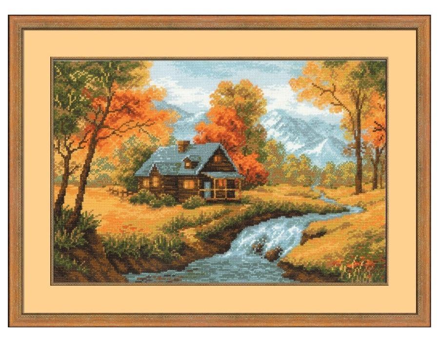 Осенний пейзаж, набор для вышивания ...: onitochki.ru/product/1079-14448