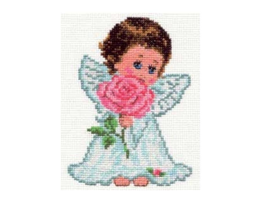 Набор вышивки крестом ангелы